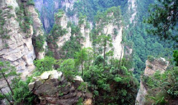 mountains pandora Zhangjiajie hunan china