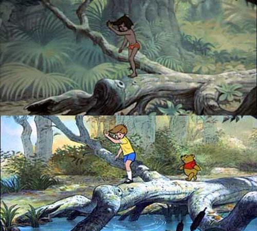 mowgli libro selva Christopher Robin Winnie The Pooh