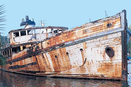 oxidacion oxido barco herrumbre