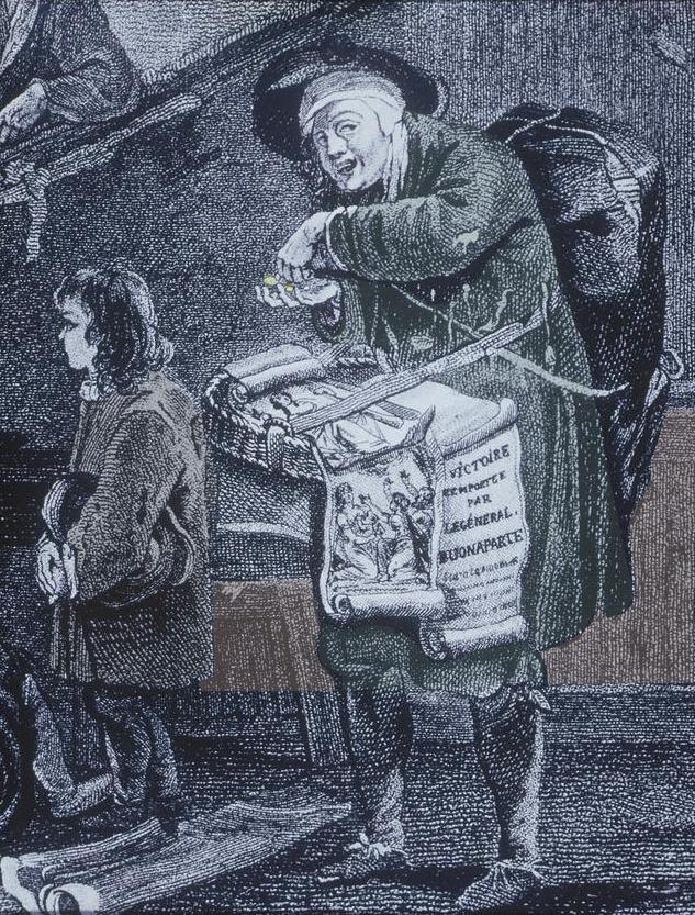 pamphlet vendor vendedor libelos