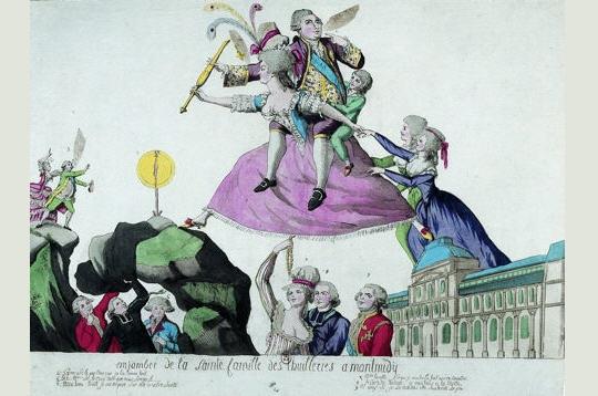 panfletos real luis XVI libelos revolucion francesa
