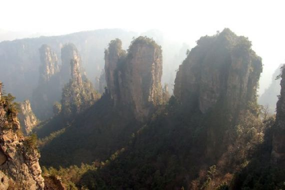 real mountains avatar film china
