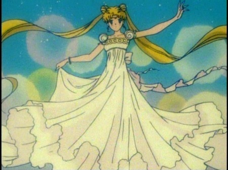 sailor moon anime selene princesa luna