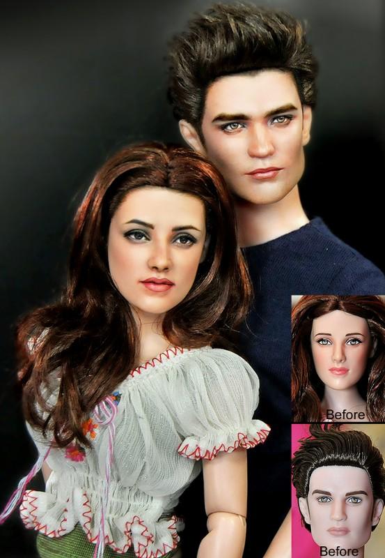 Bella Edward luna nueva