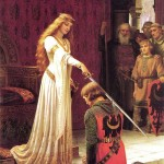 The Accolade Edmund Blair Leighton