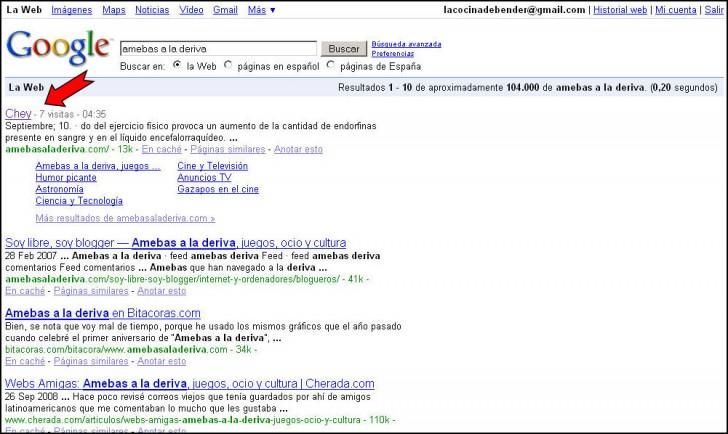 amebas google
