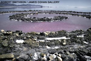 espiral spiral jetty land art earthwork