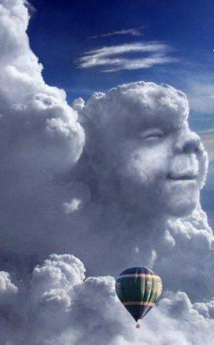fotos arte nubes forma pareidolia