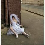 Fotos de bodas, humor de recién casados