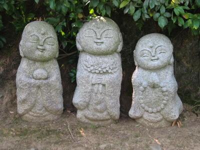 jizo budista figuras ninos bebes budismo