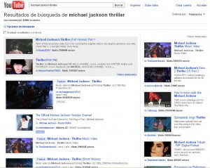 michael jackson youtube