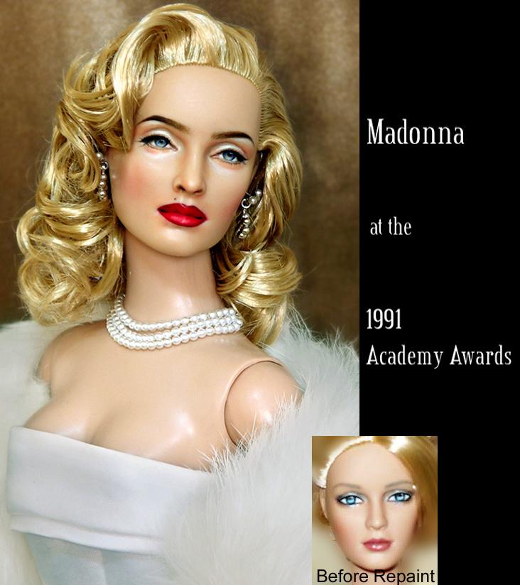 muneca Madonna oscars 1991