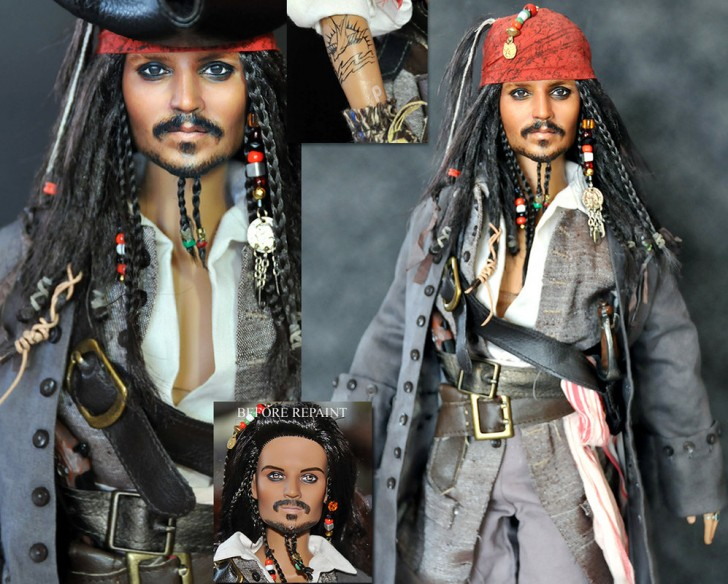 muneco Jack Sparrow Johnny Depp