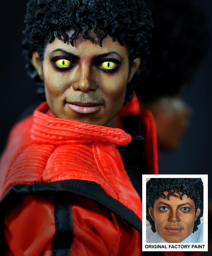 muneco Michael Jackson thriller lobo