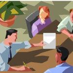 Truco aritmético en una reunión