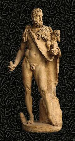 telefo mitologia griega escultura