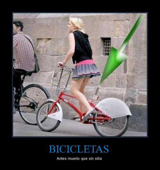 bicicleta sin sillin