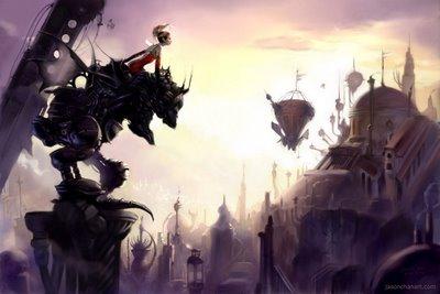 final fantasy 6 vi ffvi art amano