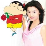 A Shin-chan le gusta Norika Fujiwara