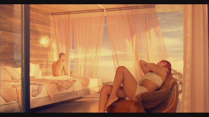 rihanna california king bed video