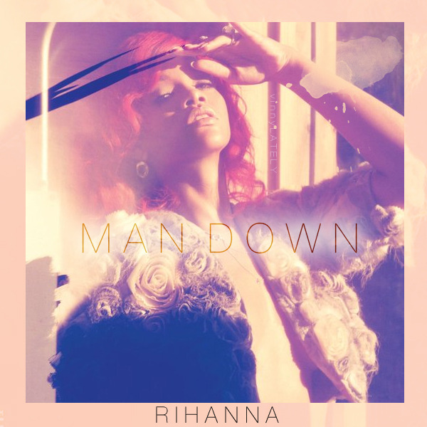 rihanna man down single sencillo