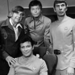 WILLIAM SHATNER DEFOREST KELLY LEONARD NIMOY RODDENBERRY