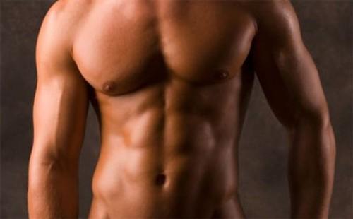 testosterona hombre abdominales