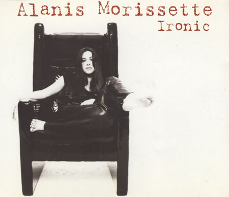 Alanis Morissette Ironic single