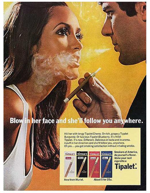 anuncio publicidad sexista machista cigarrillos tipalet