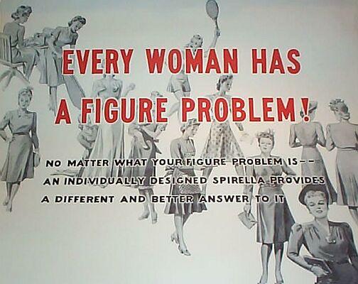 anuncio publicidad sexista machista corse spirella