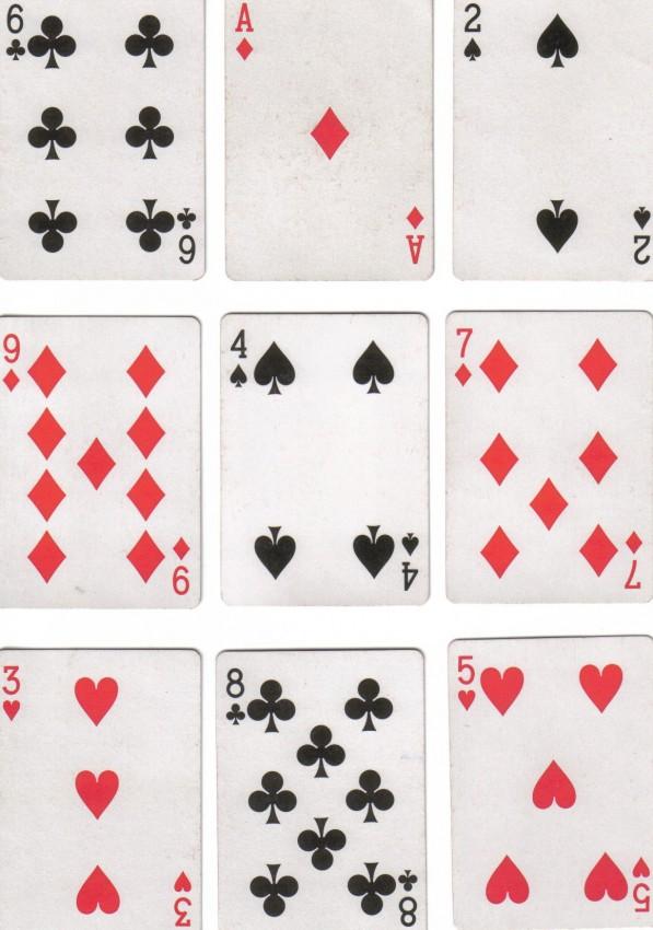 baraja cartas francesa