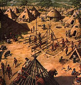 ciudad pueblo neolitico