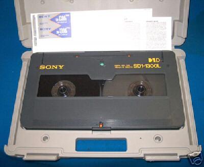 digital id-1 tape cinta