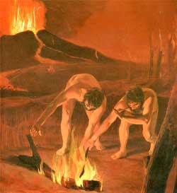 prehistoria descubrimiento fuego