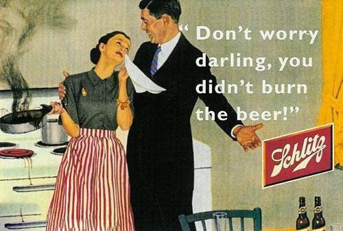publicidad anuncios sexistas machistas cerveza schlitz
