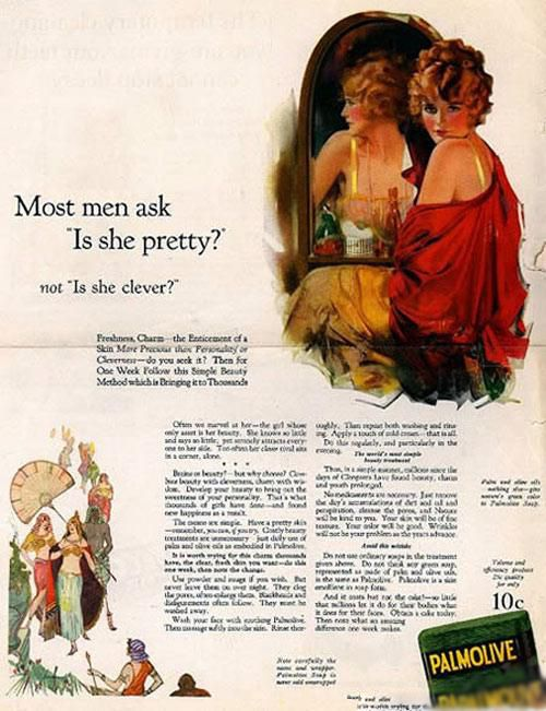 publicidad anuncios sexistas machistas palmolive
