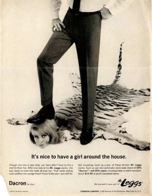 publicidad anuncios sexistas machistas pantalones mr leggs