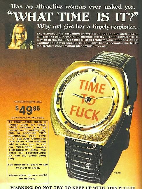 publicidad anuncios sexistas machistas tiempo de relojes