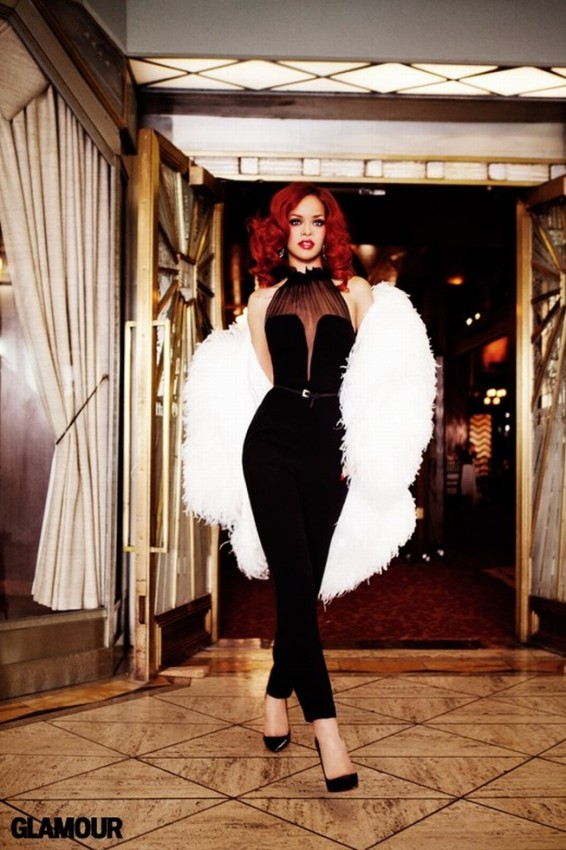 rihanna glamour magazine septiembre 2011 04