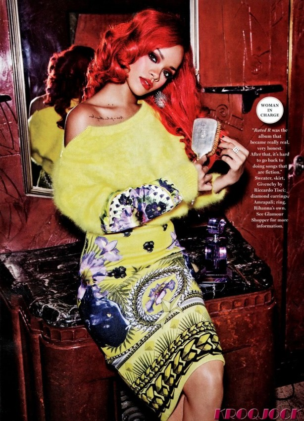 rihanna glamour magazine septiembre 2011 06