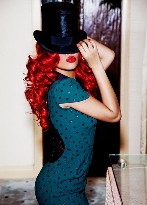 rihanna glamour magazine septiembre 2011 12
