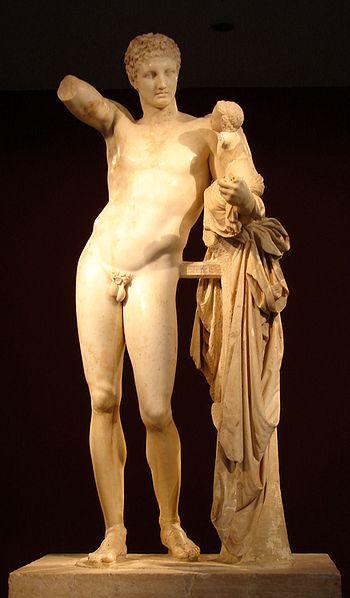 Hermes mercurio dioniso praxiteles olimpia