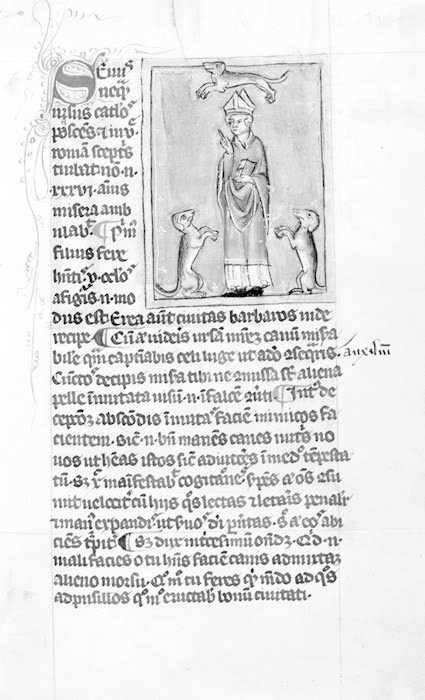 Marston MS 225 manuscrito