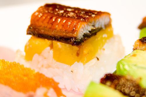 Oshizushi sushi prensado oshibako