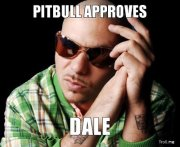 Tengo miedo de que Pitbull me diga DALE y yo no sepa darle
