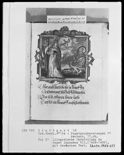 Vaticinia de Summis Pontificibus 10