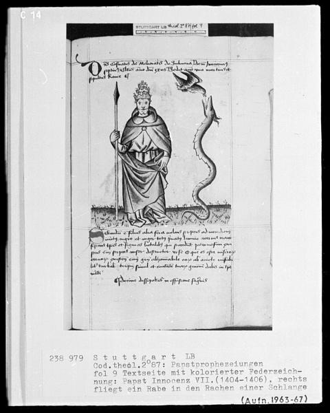 Vaticinia de Summis Pontificibus 11
