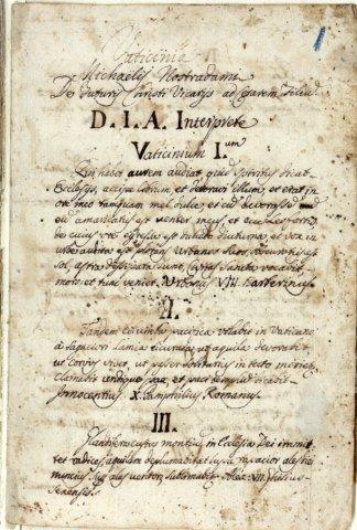 Vaticinios Vatinicia Nostradamus 12