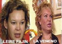 Yo tambien creo que Leire Pajin y La Veneno son la misma persona
