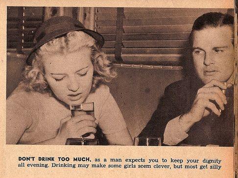 advertencia mujeres no beber mucho